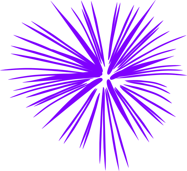 Purple clip art at. Clipart fireworks white background