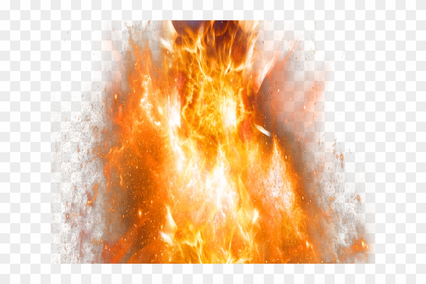 Explosion png . Clipart flames realistic fire flame