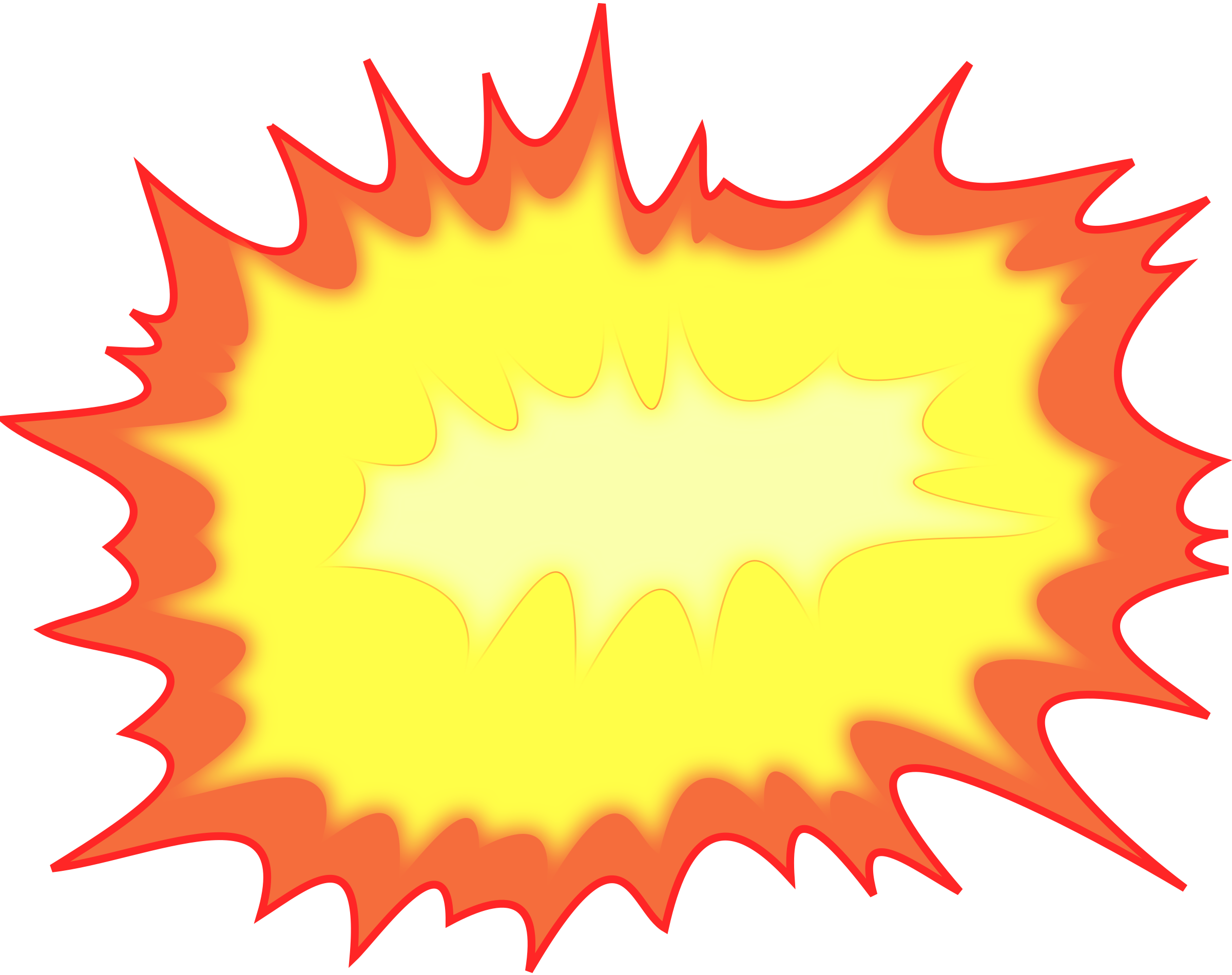 collection of explosion. Clipart gun bomb
