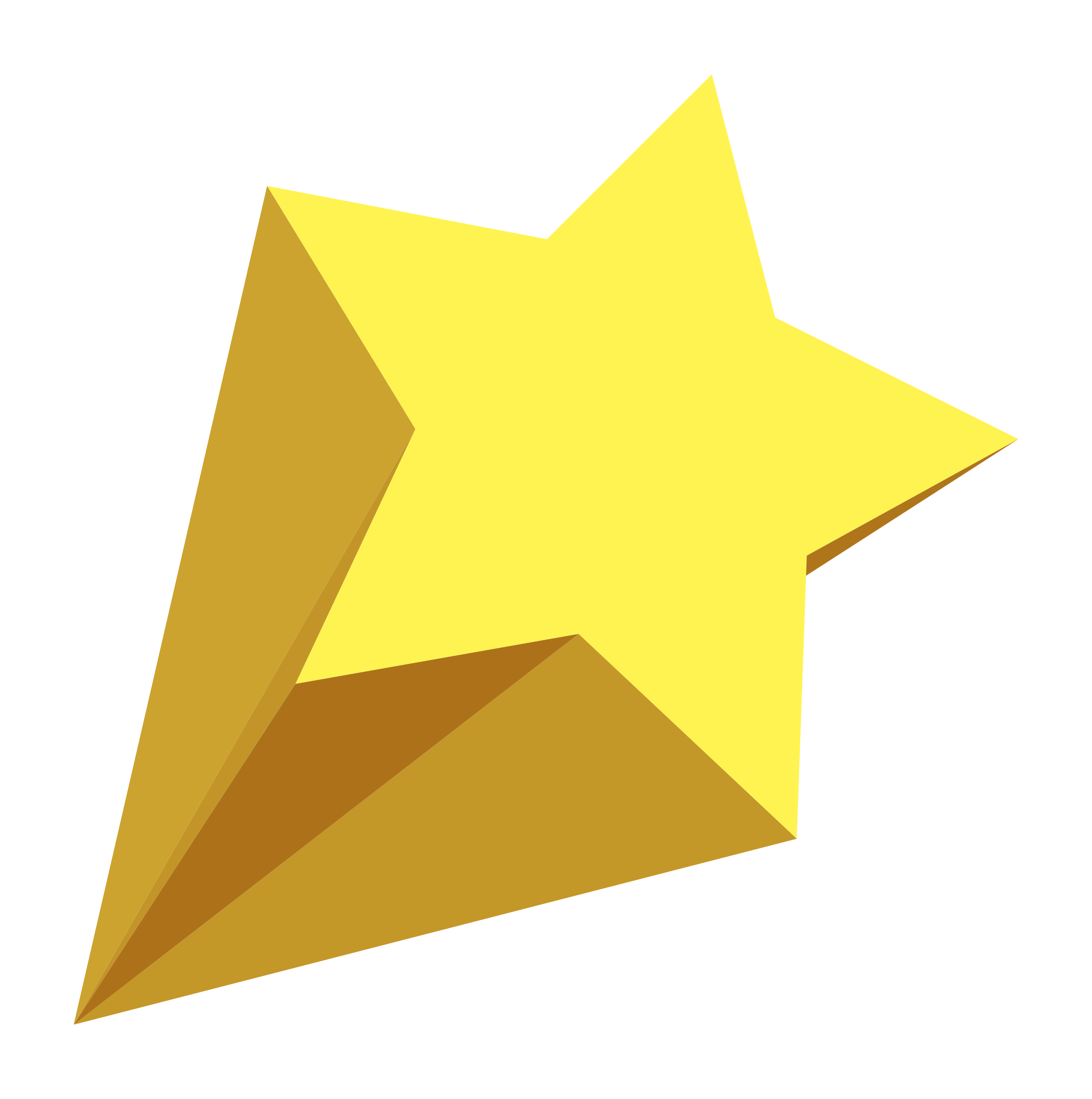 Yellow pencil and in. Explosion clipart rising star