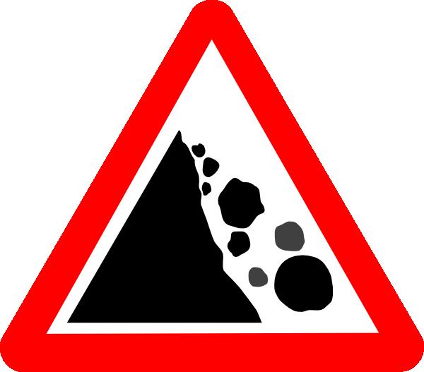 Clipart explosion rock. Falling rocks clip art