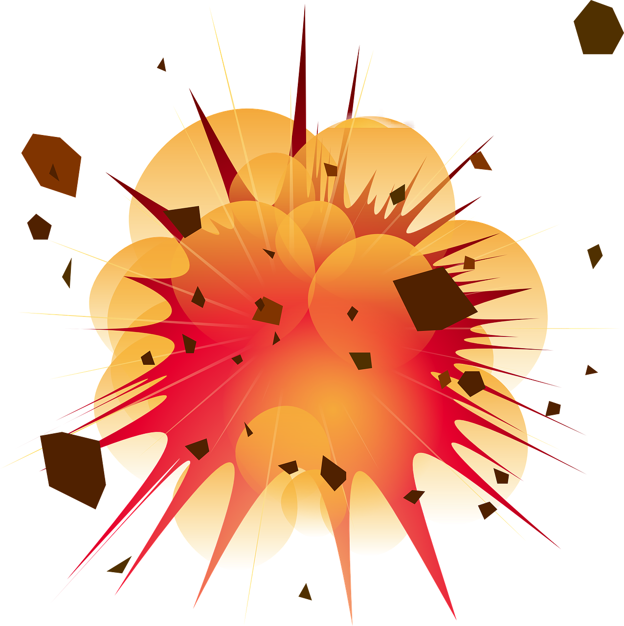 Clipart explosion rocket explosion. How to verify a