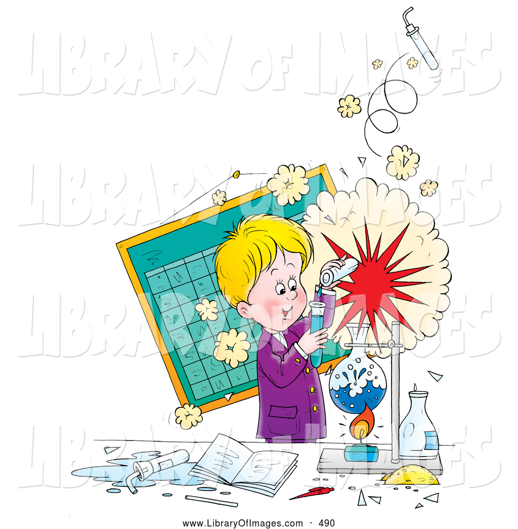 Clip art of a. Explosion clipart science