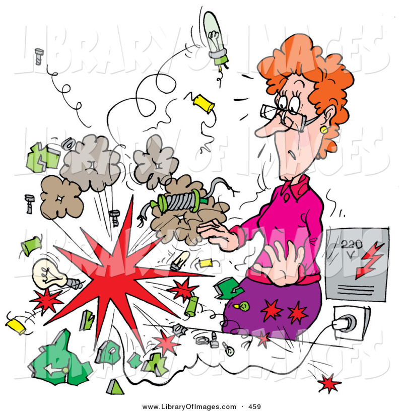 Explosion clipart science. Clip art of an