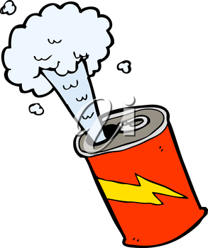 Royalty free image of. Explosion clipart soda