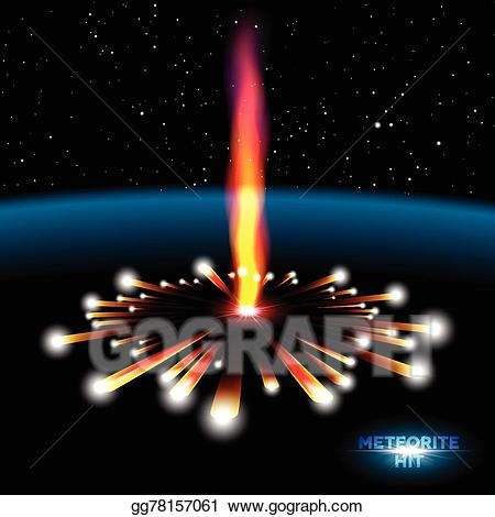 Explosion clipart space explosion. Vector stock card with