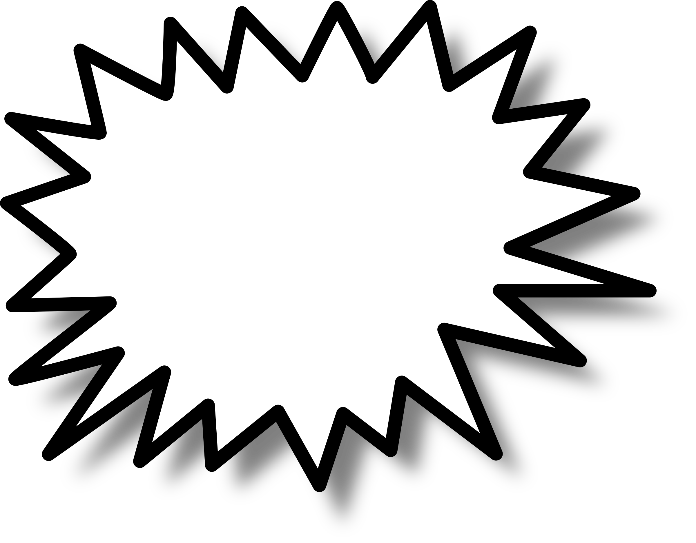 Flash clipart star. Callout big image png