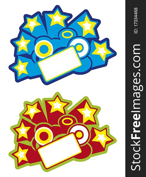 Clipart explosion star banner. With free stock images