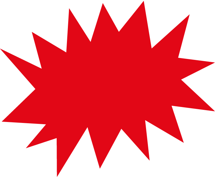 Explosion clipart starburst.  collection of red