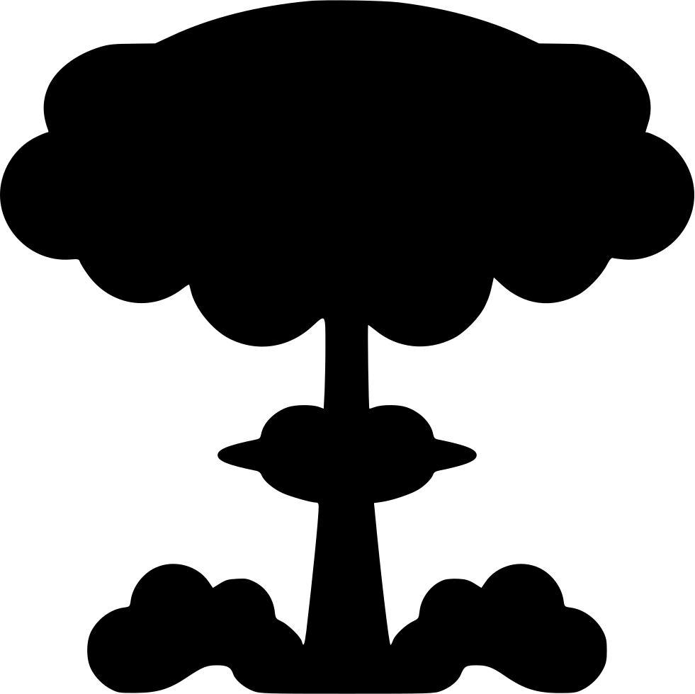 Clipart explosion svg. Nuclear png icon free