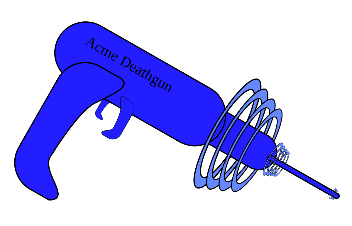 Weapons in science fiction. Clipart gun old fashioned