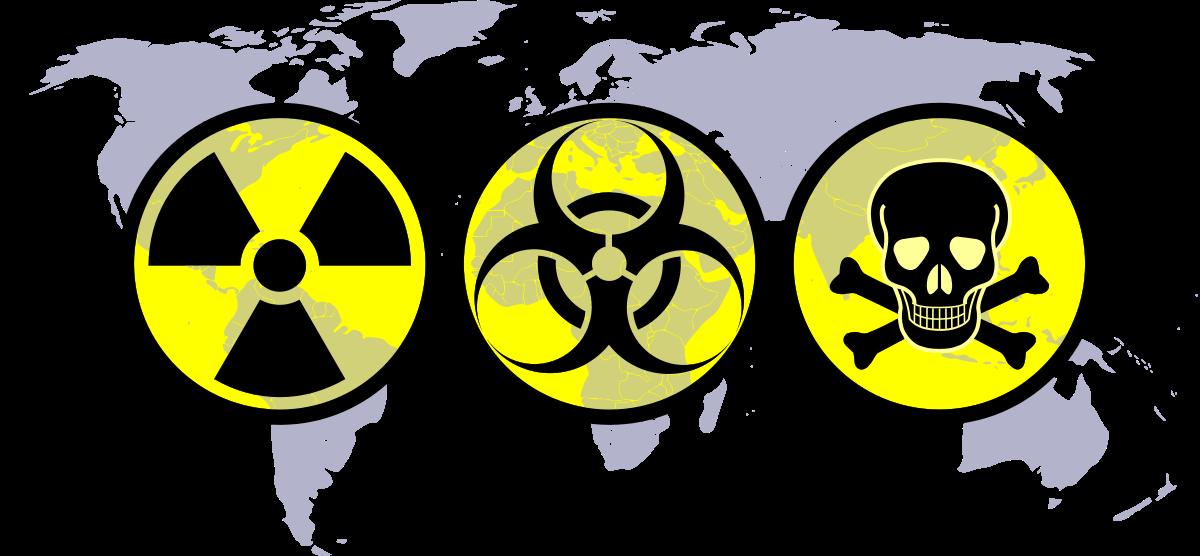 Weapon of mass destruction. Disease clipart hazardous material