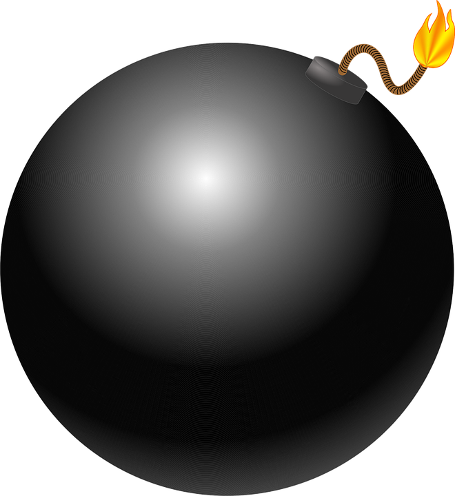 Hand clipart bomb. Weapons png images with