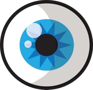Clip art black and. Clipart eye