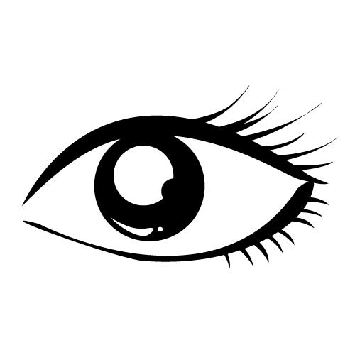 Eyes clipart outline. Eye exam eyeglasses black