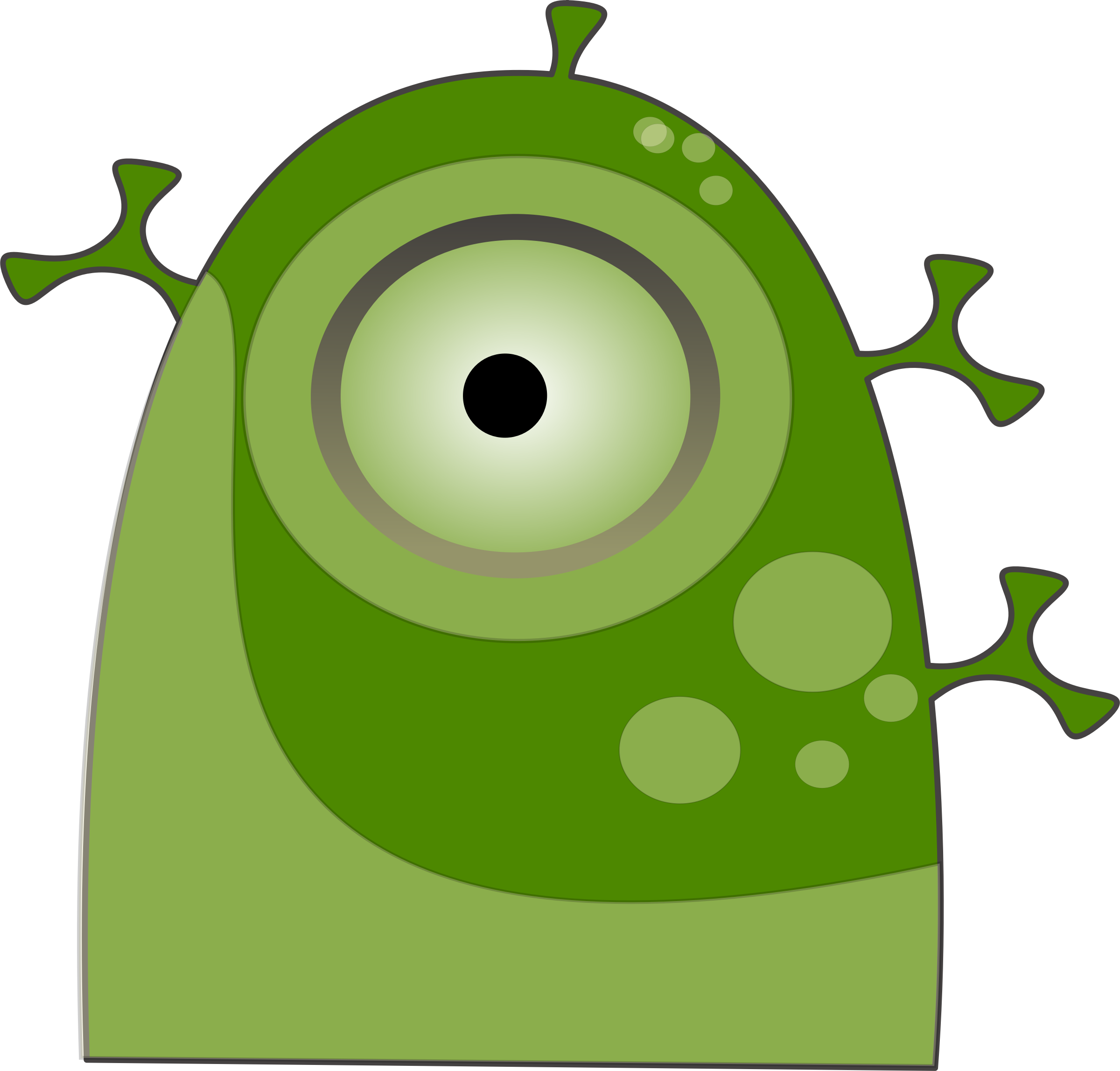 Big image png. Clipart eye alien