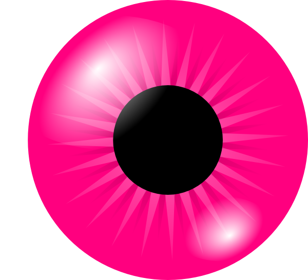 Sick clipart eye. Pink clip art at