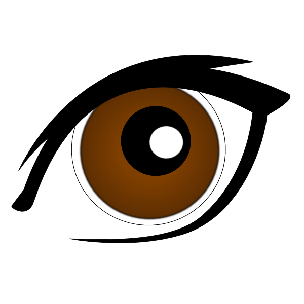 Eyes clipart brow. At getdrawings com free
