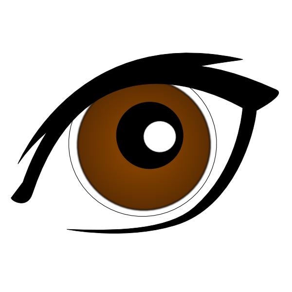 Eyebrow clipart les. Eyes at getdrawings com