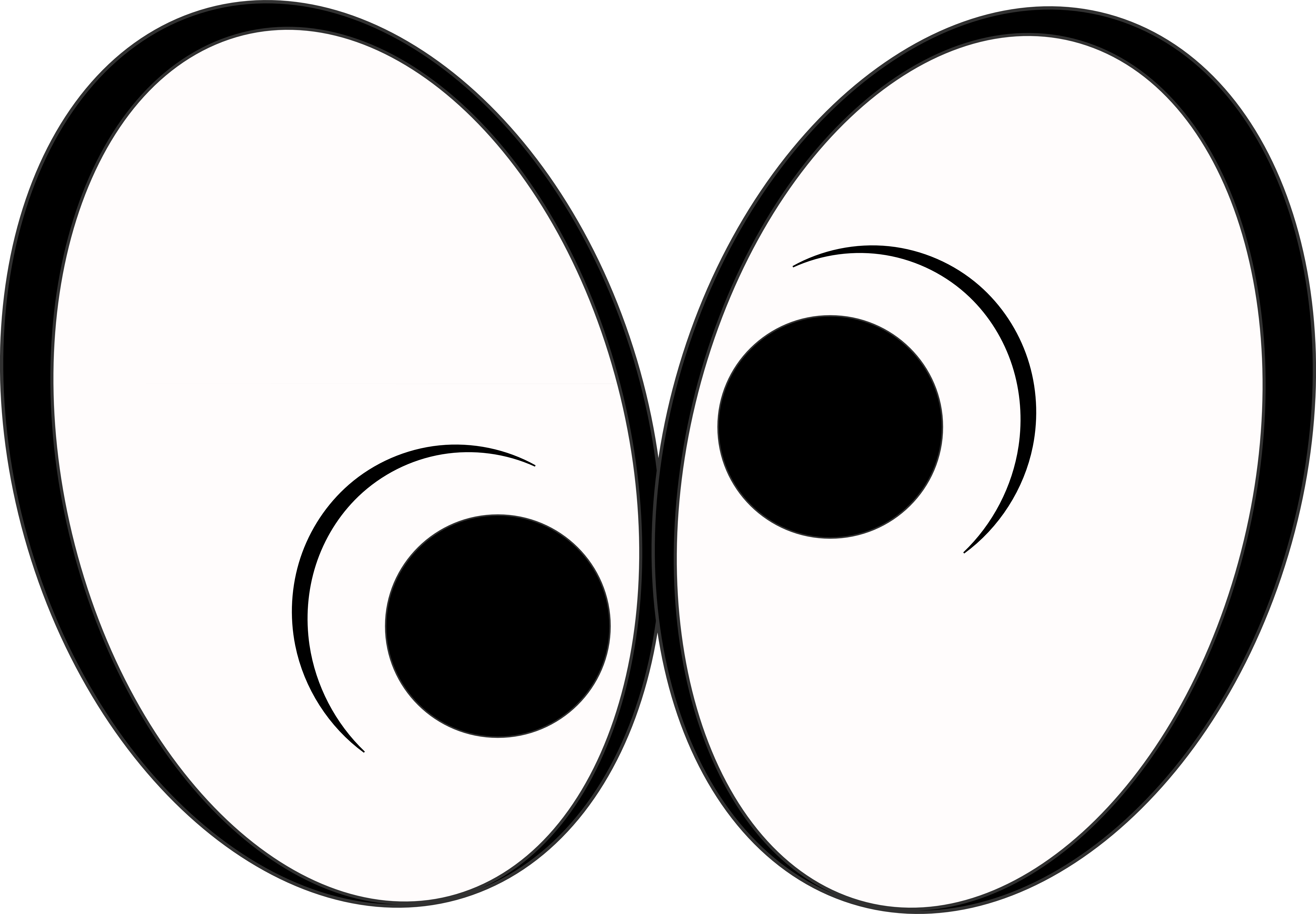 Clipart eye animation. Eyes looking at you