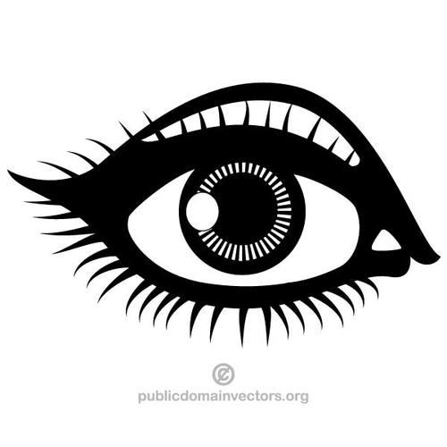 Eyes clip art free. Eye clipart black and white