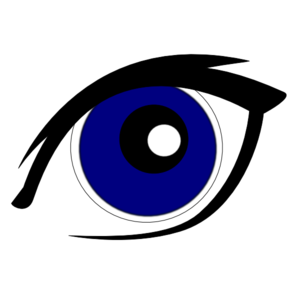Clipart eyes blue. Clip art panda free
