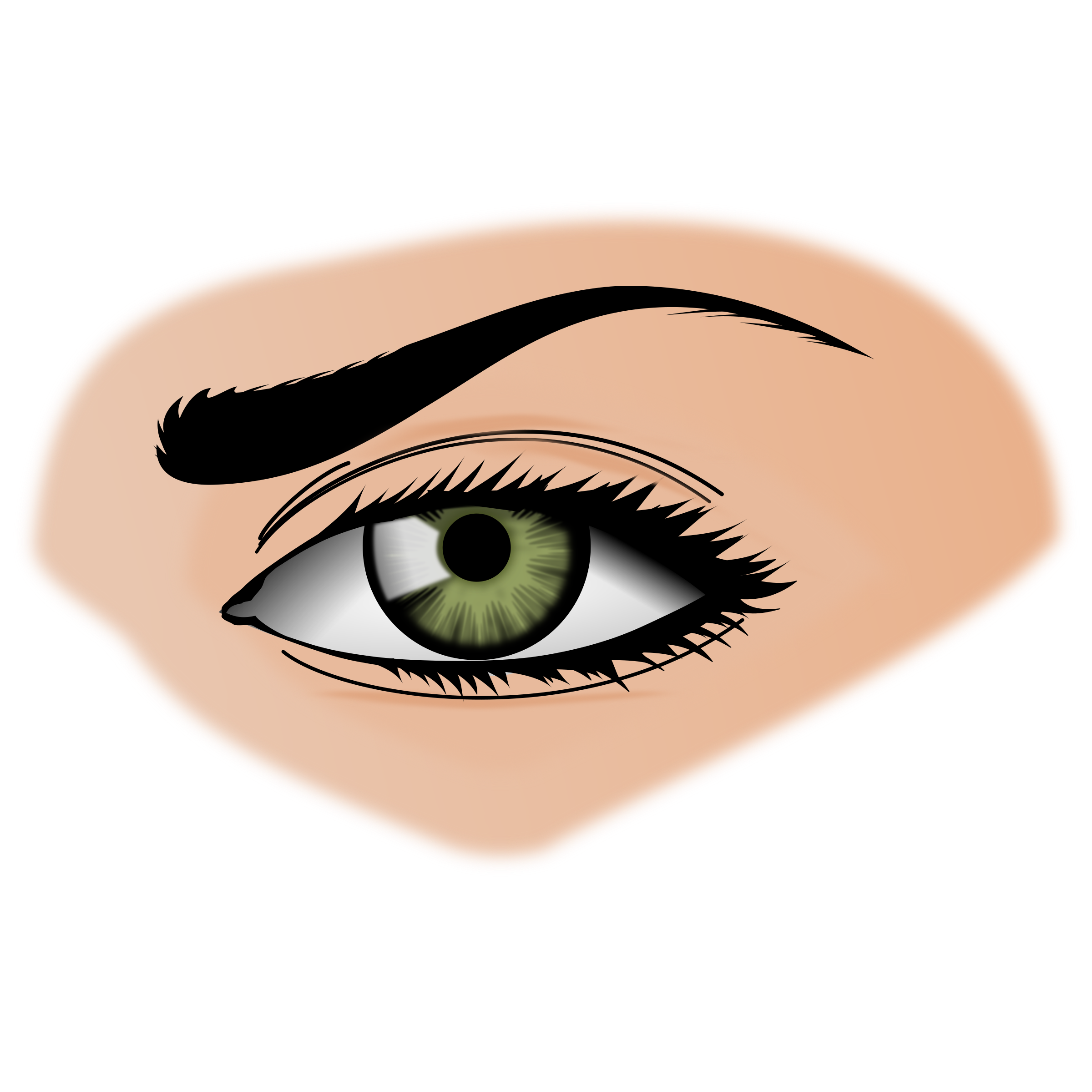 . Picture clipart eye