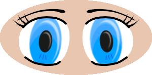 Clip art for kids. Clipart eye children's