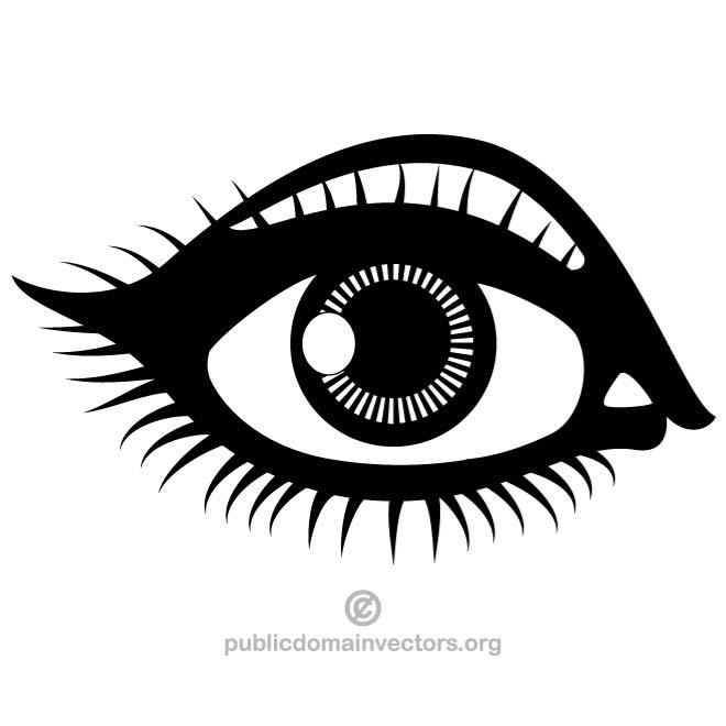 Eye clipart clip art.  images clipartlook