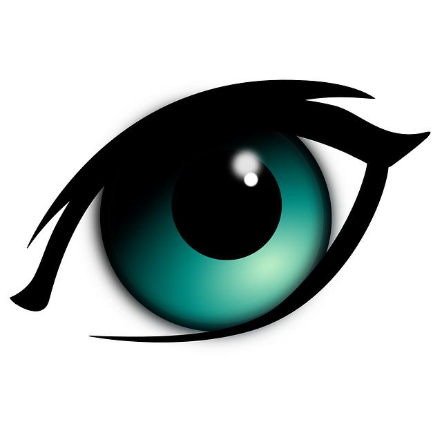 Eyeball clipart festival. Blue eyes blind eye