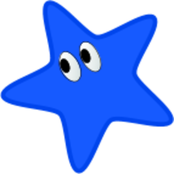 Shell clipart blue star. Free color cliparts download