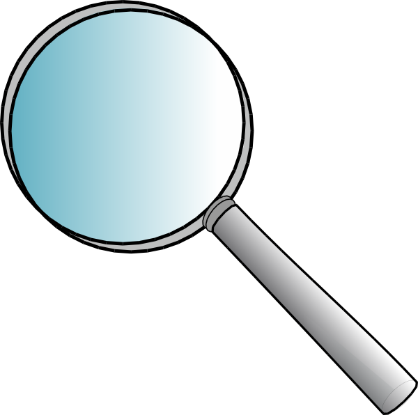 Detective clipart tool. Magnifying glass panda free