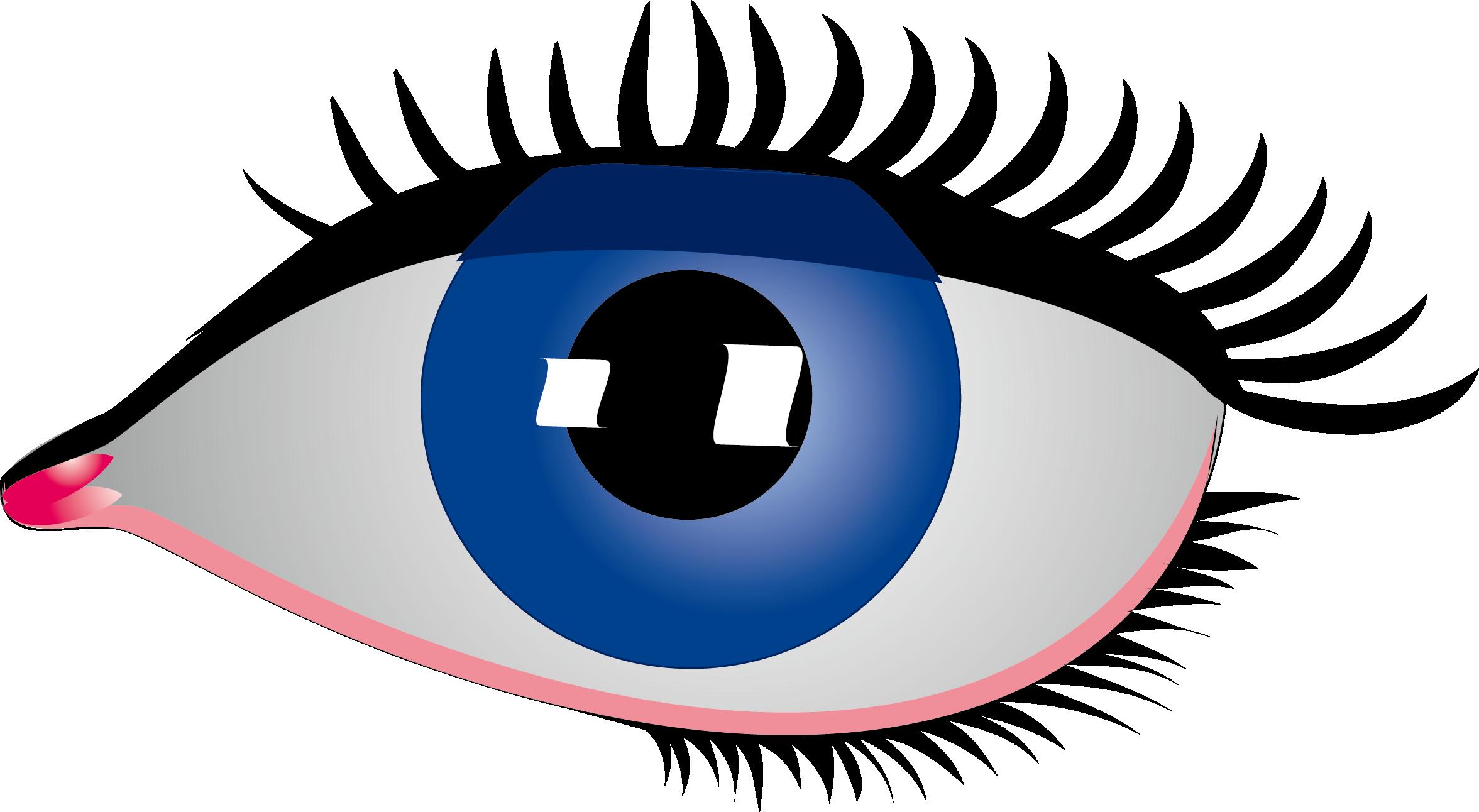 Eye rebus clip art. Eyelash clipart simple