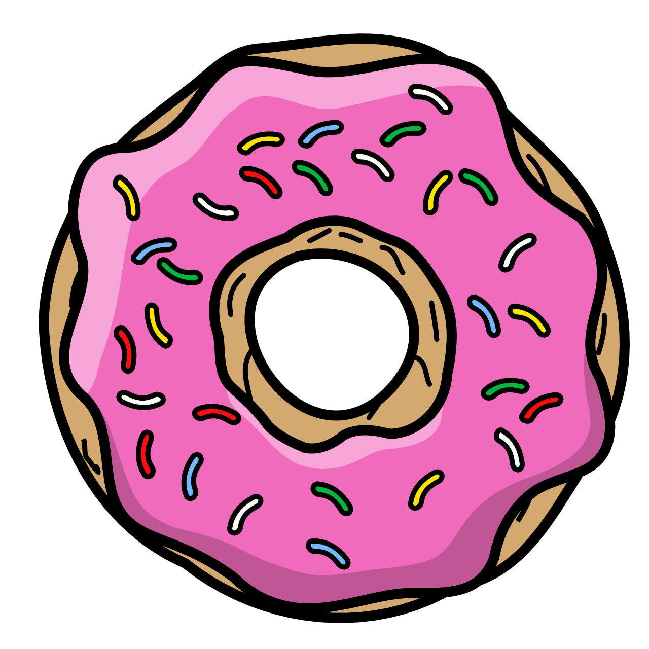 Donuts frosting icing t. Donut clipart frosted