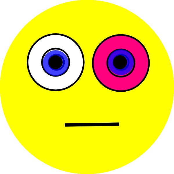 Cartoon wink group winking. Eyes clipart emotion