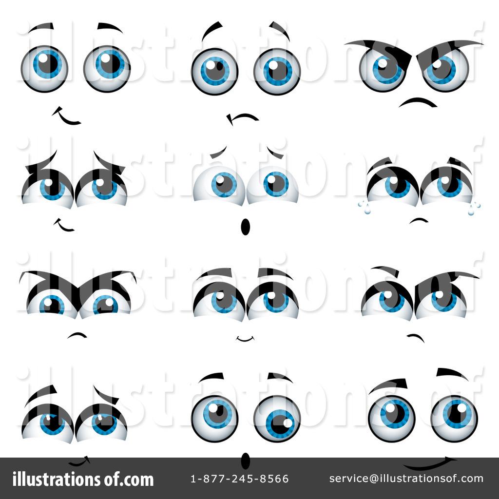 Clipart eyes emotion. Illustration by milsiart