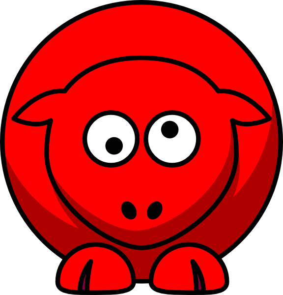 Looking clipart kid. Red eyes free on