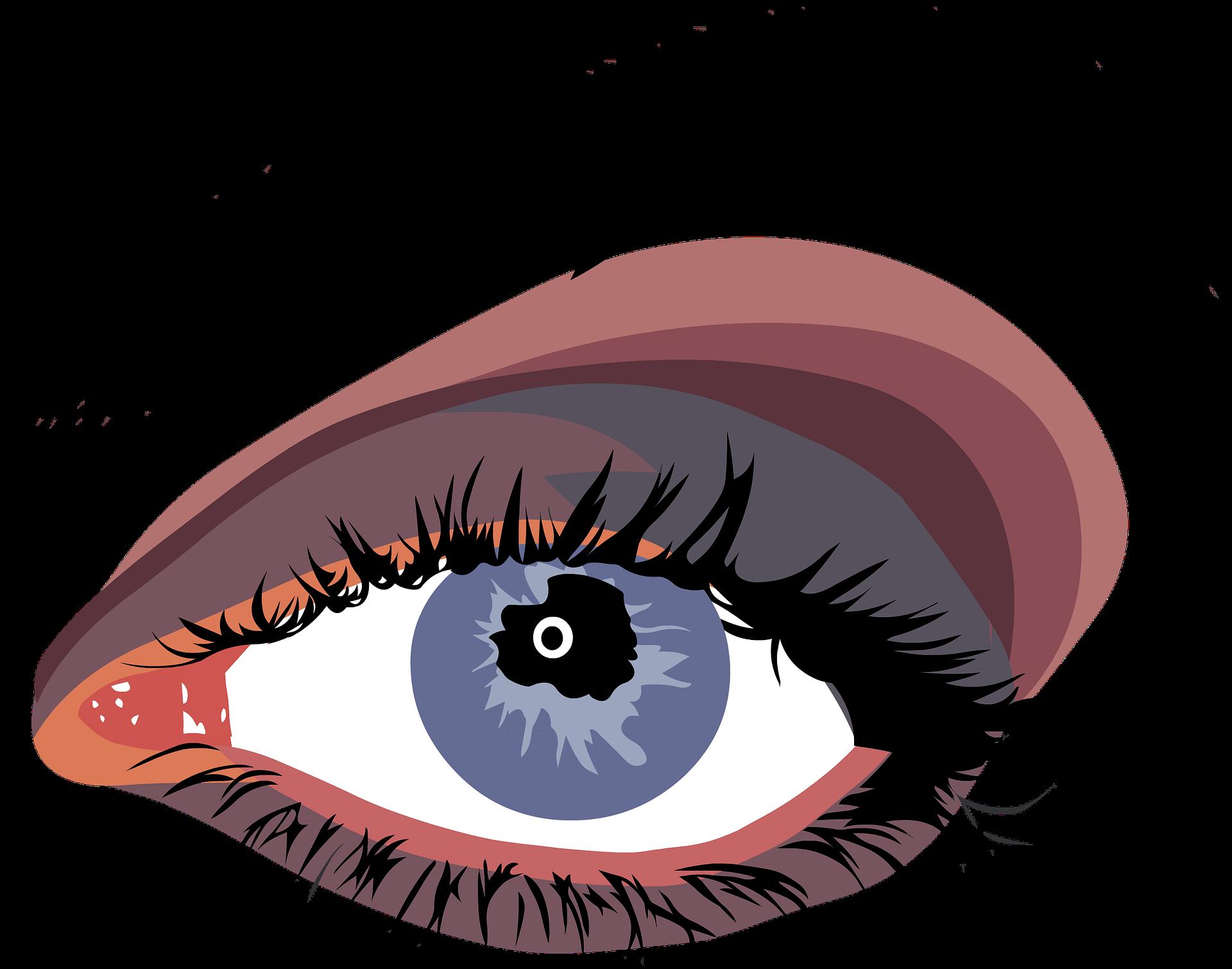 Eyebrow clipart false eyelash. Eyes ninkirose by nikisha