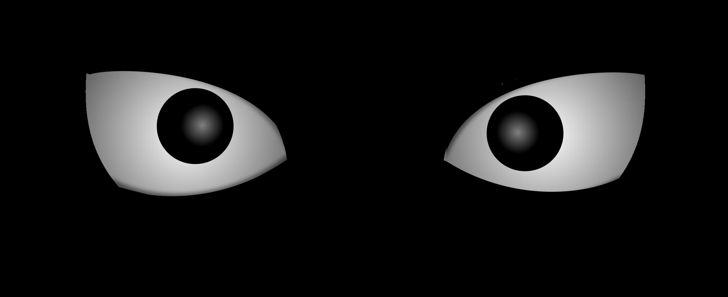 Eyelash clipart vector. Mad eyes big image