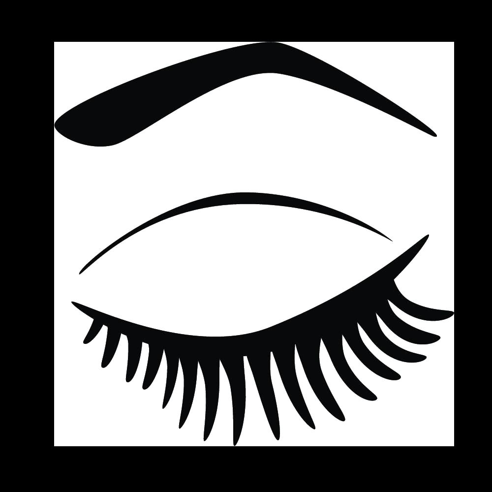 Eyelashes clipart winged eyeliner. Eyelash extensions clip art