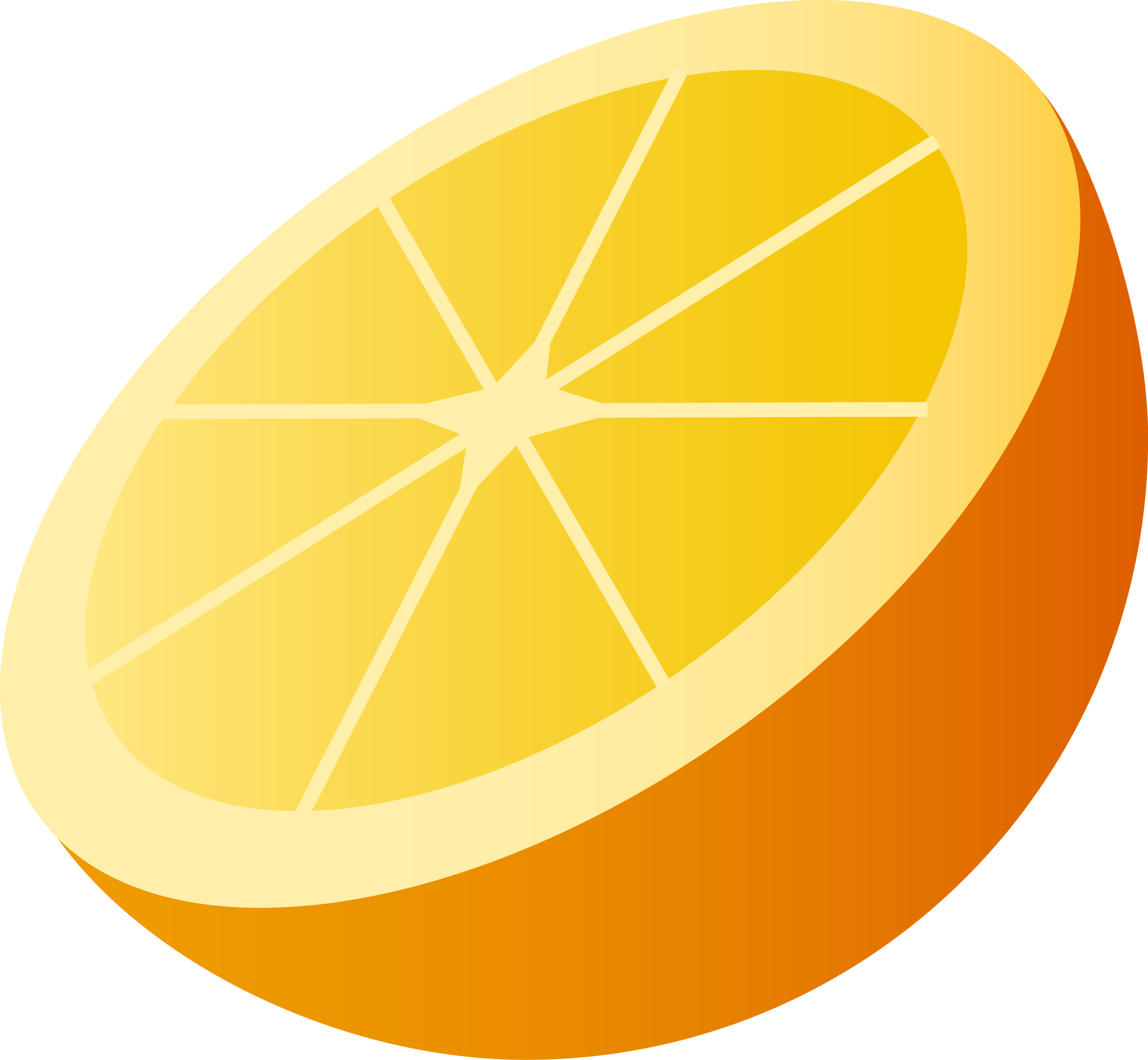 Thirty six isolated stock. Clipart fruit orange