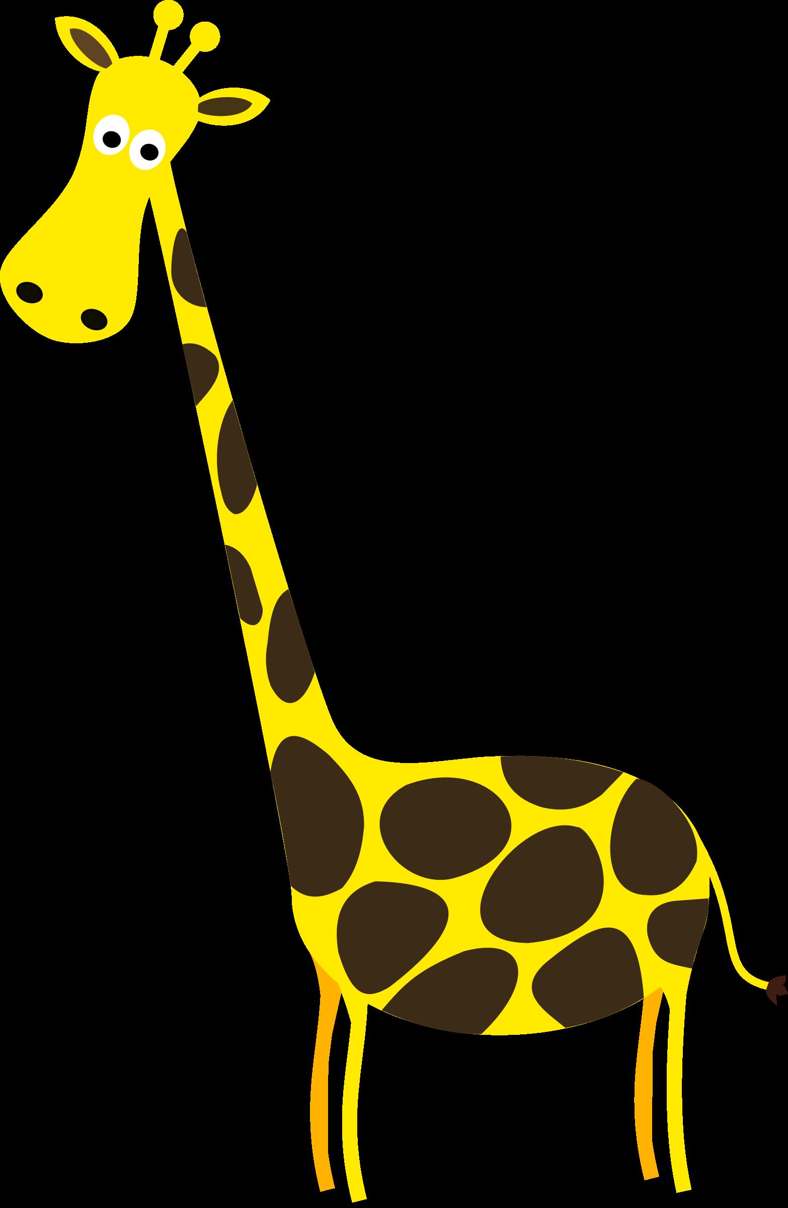 Giraffe sympa big image. Environment clipart animal