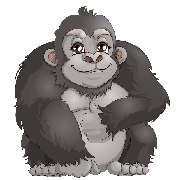 collection of png. Eyes clipart gorilla
