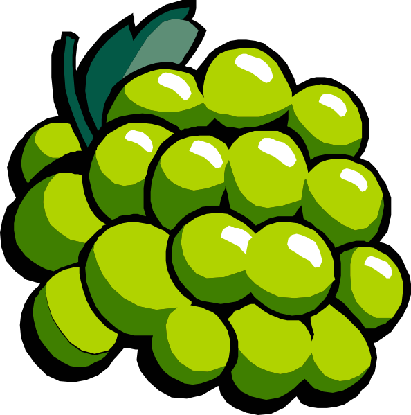 Grapes clipart happy. White clip art at