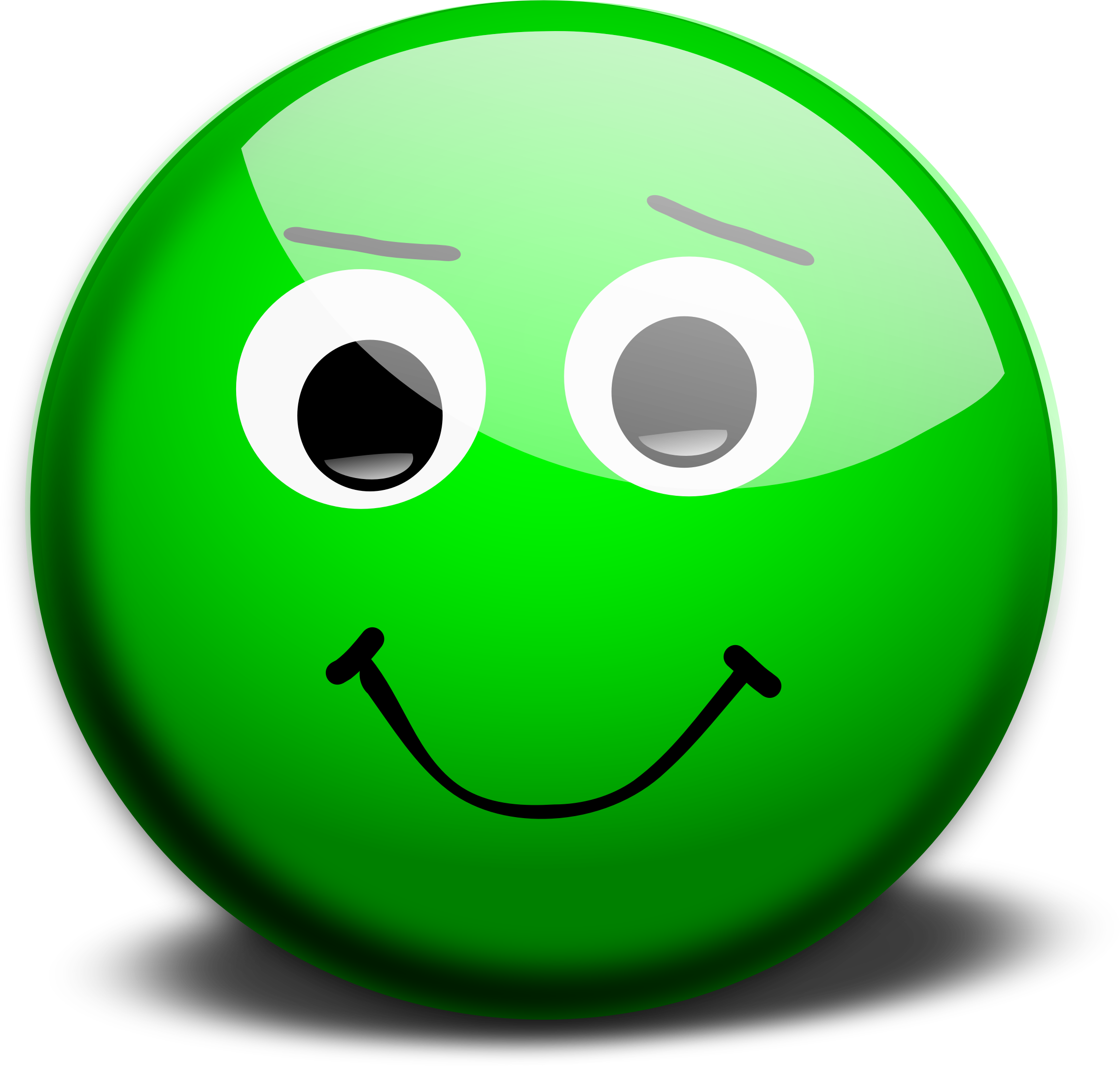 Worry clipart happy face. Big image png