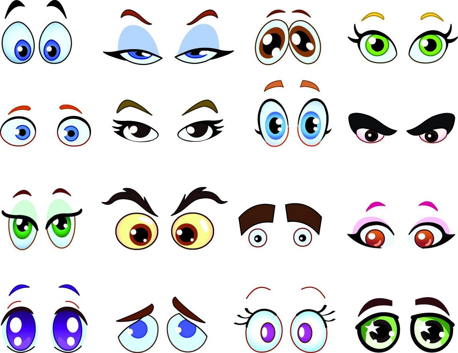 Happy delicious stuff clip. Eyeballs clipart kind eye