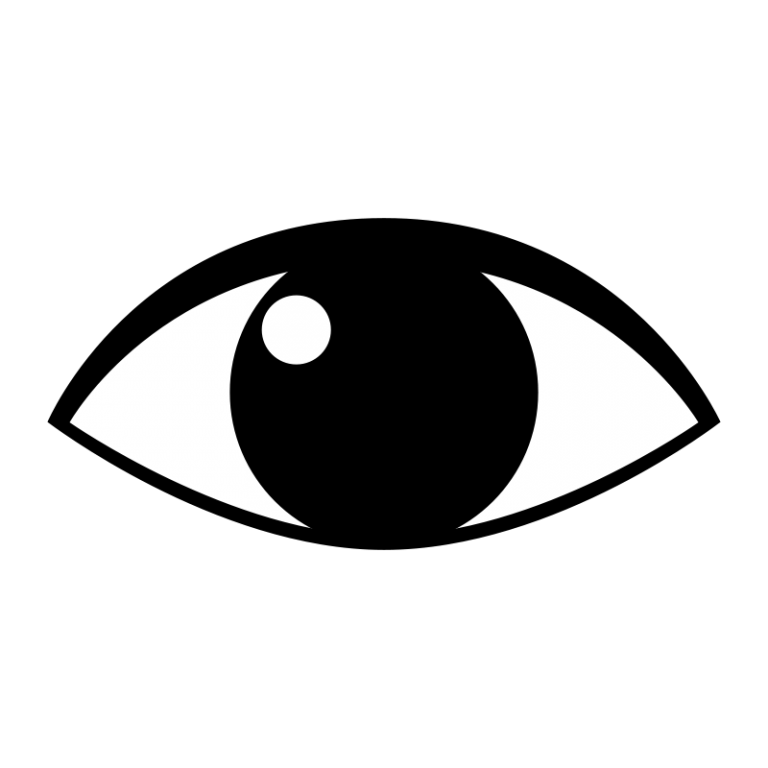 White clipart human. Eye clip art guru