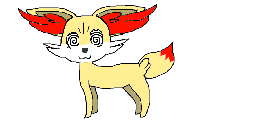 Bravenwolf the fennekin by. Eyes clipart hypnotized