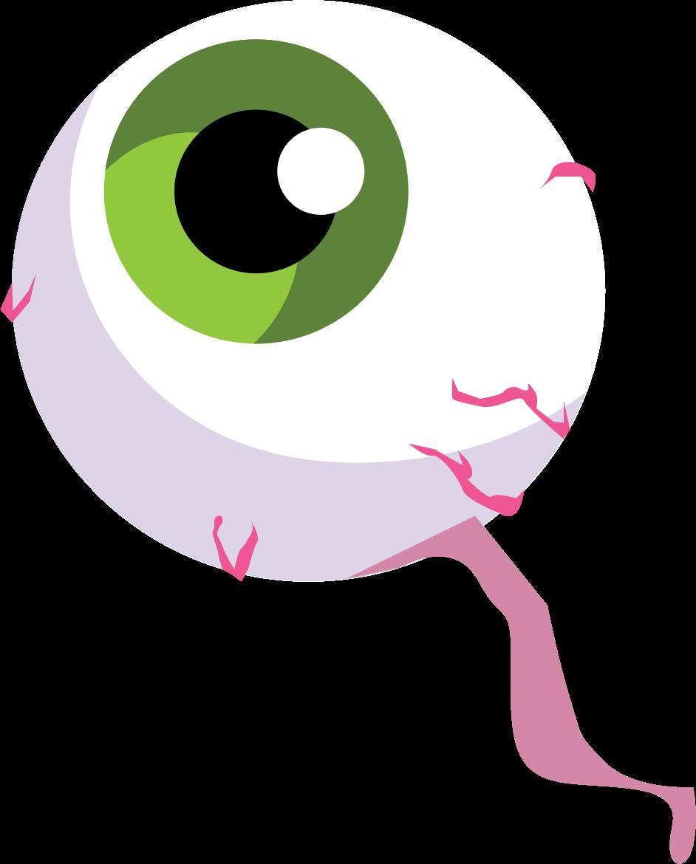 Clipart halloween eyeball. Spooky big image png