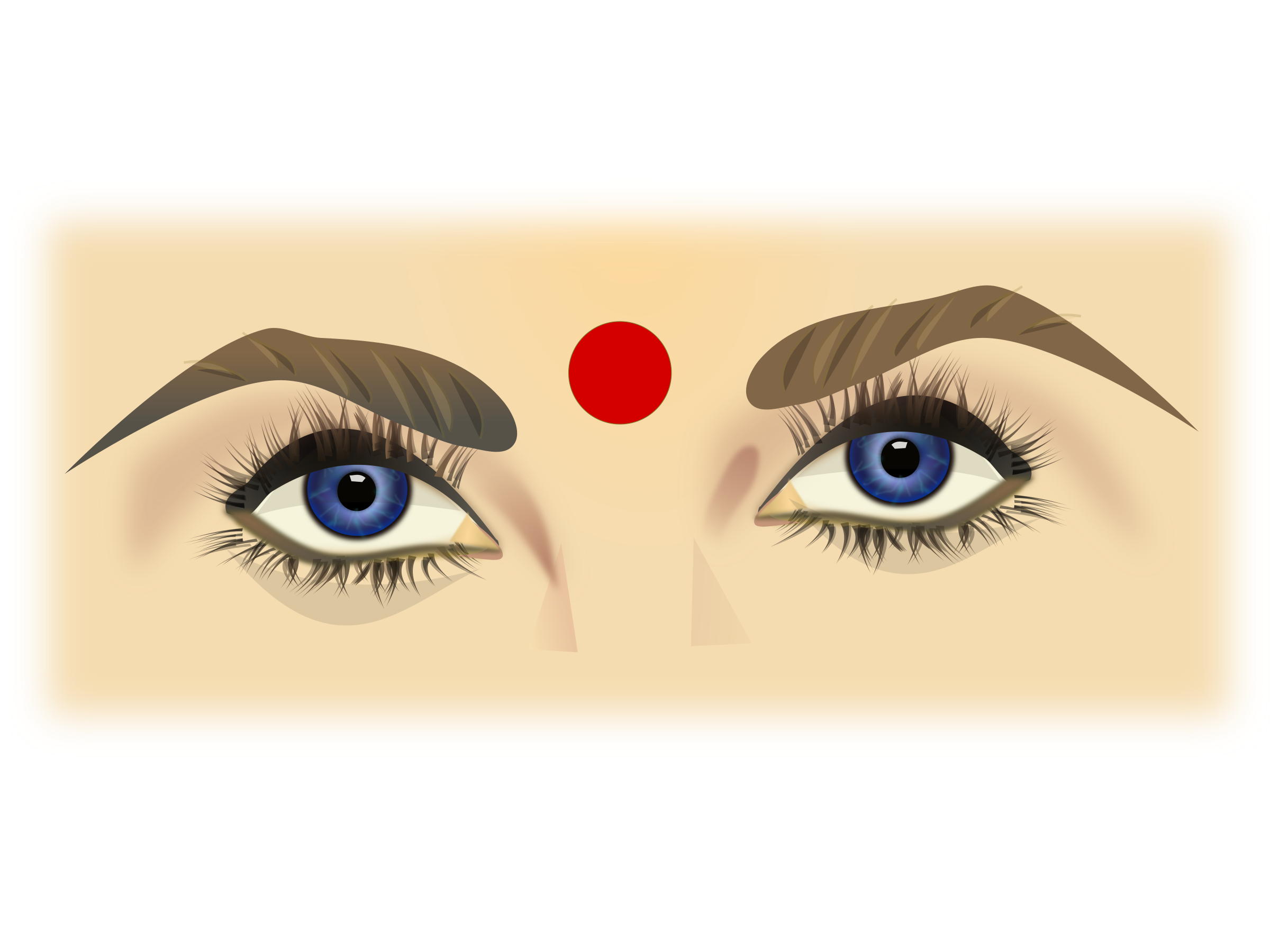 Eyes clipart lady. By netalloy big image